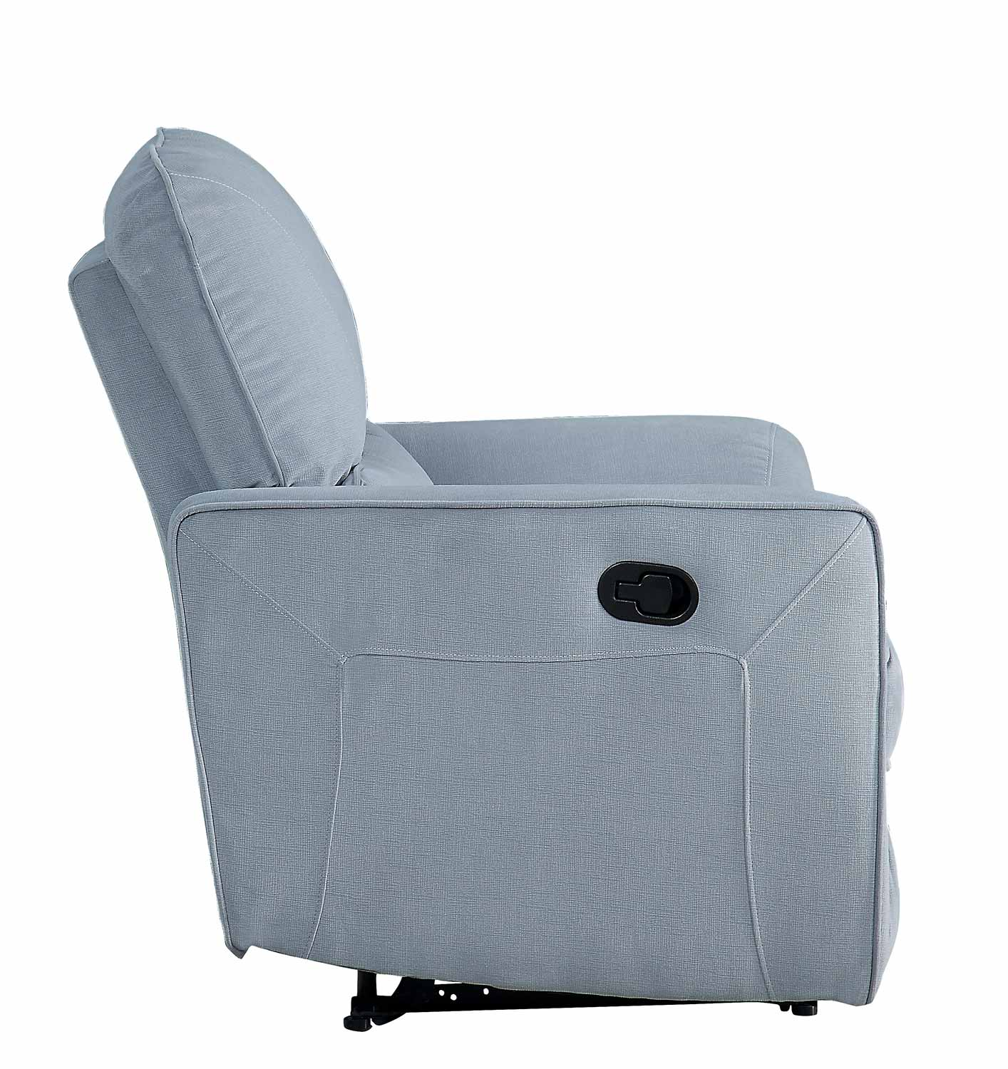 Homelegance Dowling Reclining Chair - Light Gray
