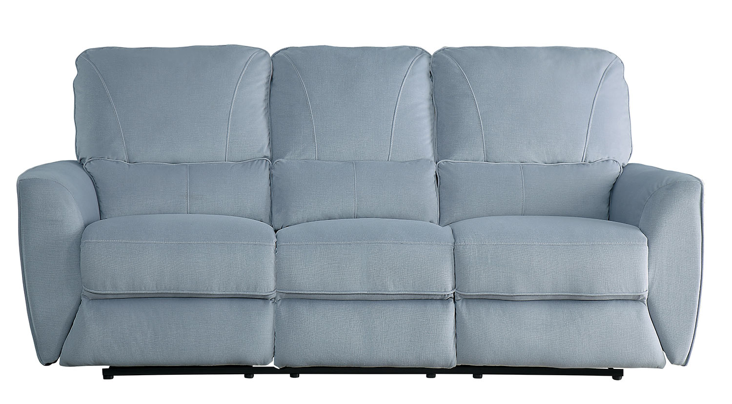Homelegance Dowling Double Reclining Sofa - Light Gray