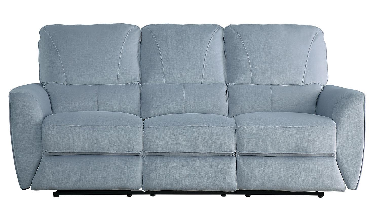 Homelegance Dowling Double Reclining Sofa - Light Gray