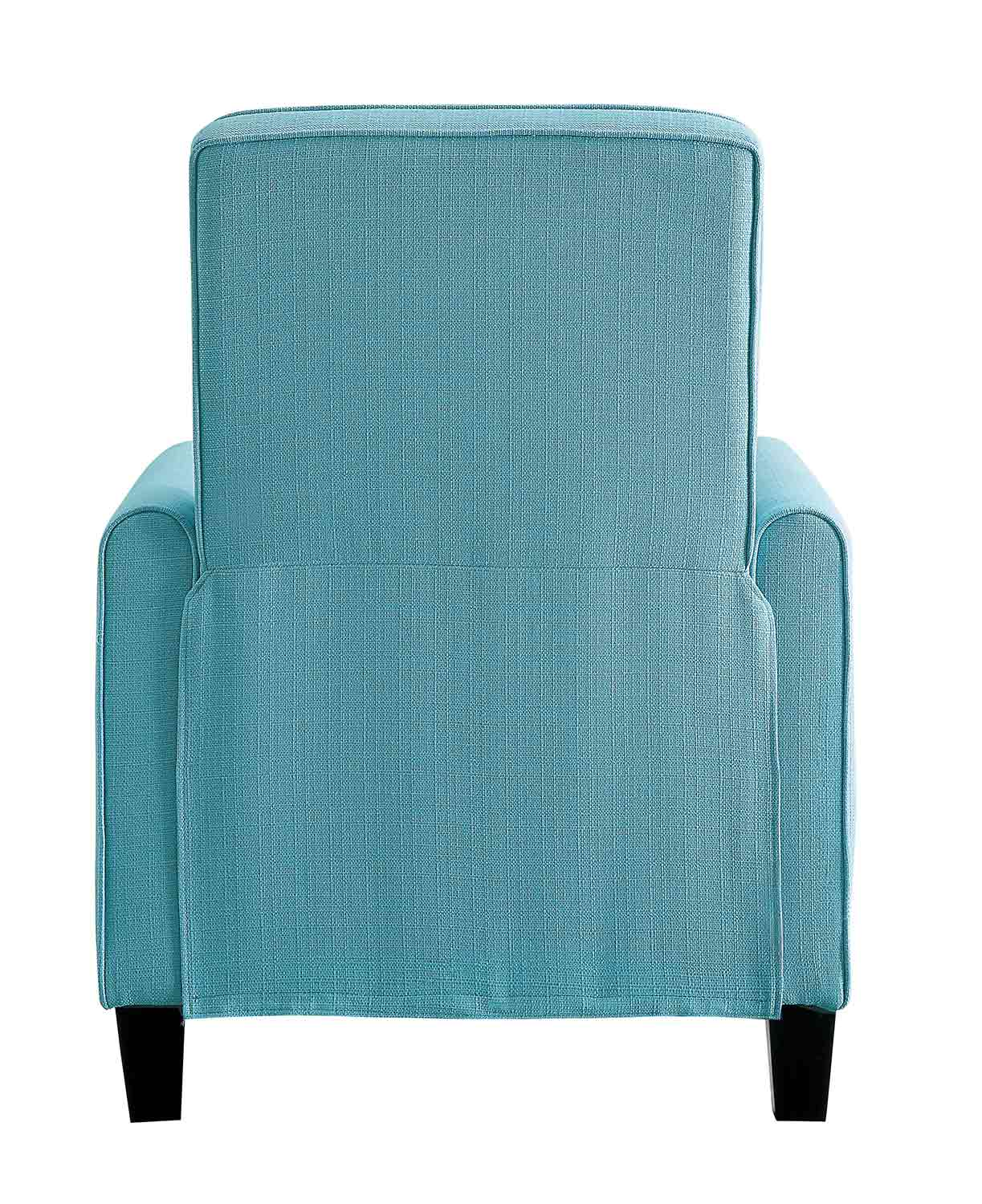 Homelegance Darcel Push Back Reclining Chair - Blue