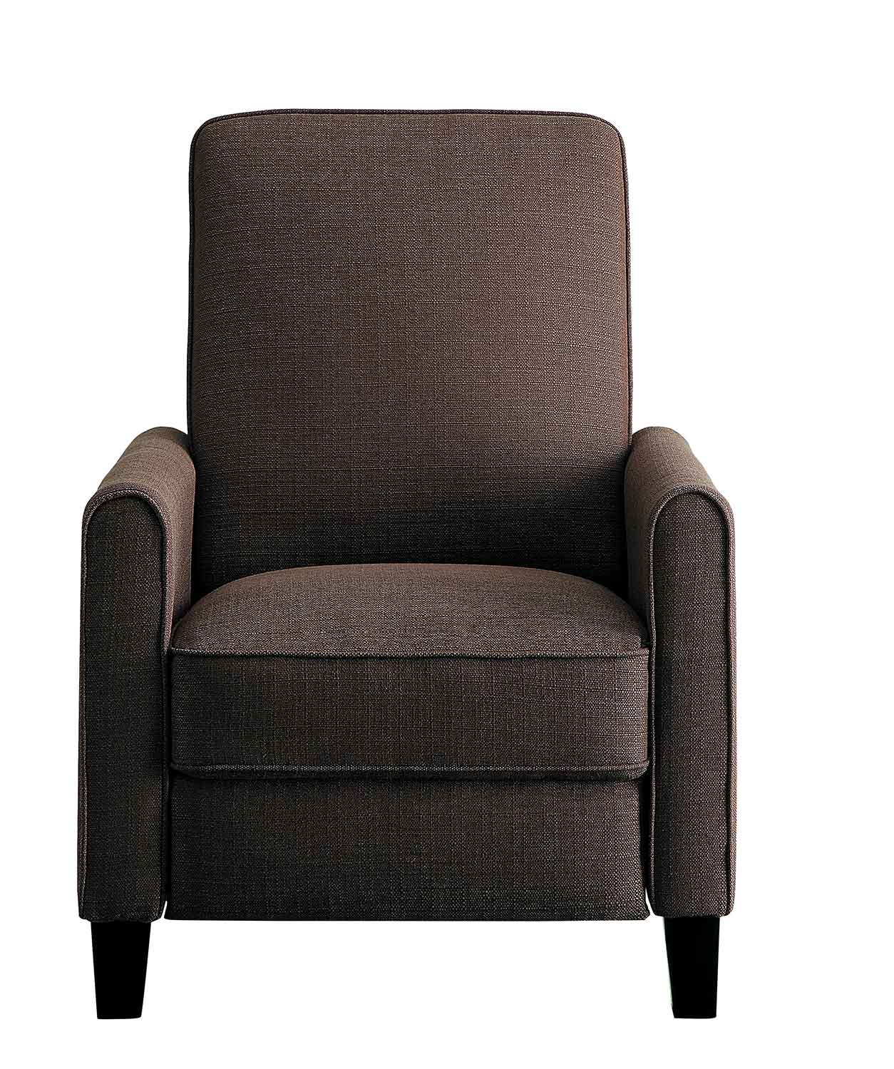 Homelegance Darcel Push Back Reclining Chair - Chocolate