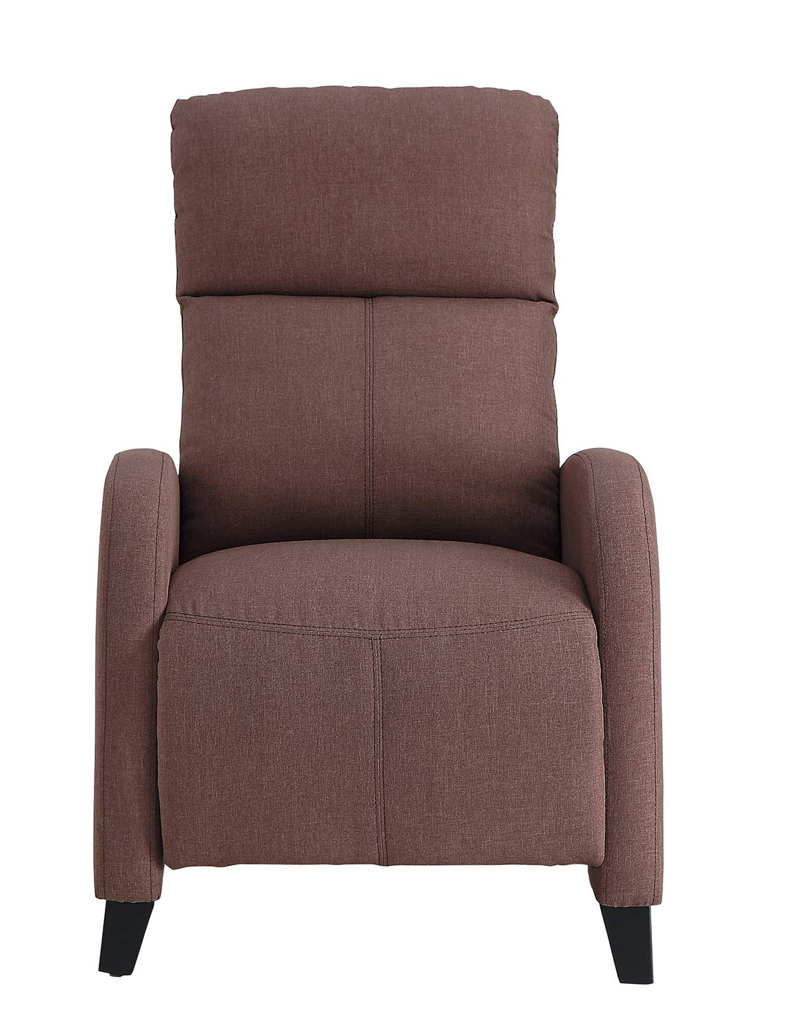 Homelegance Antrim Push Back Reclining Chair - Brown