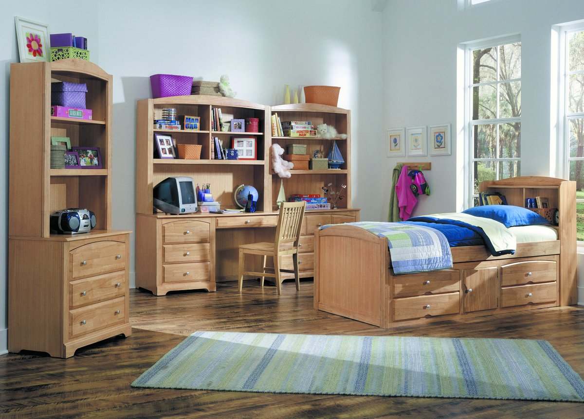 Truckee Captain Bedroom Collection - Maple - Homelegance