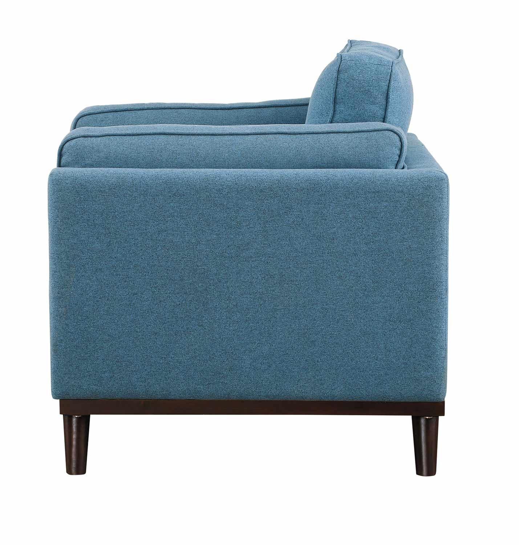 Homelegance Bedos Chair - Blue