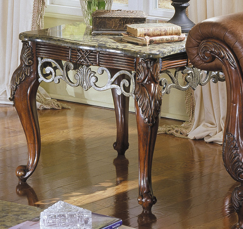 Homelegance Madrid End Table 829-04N