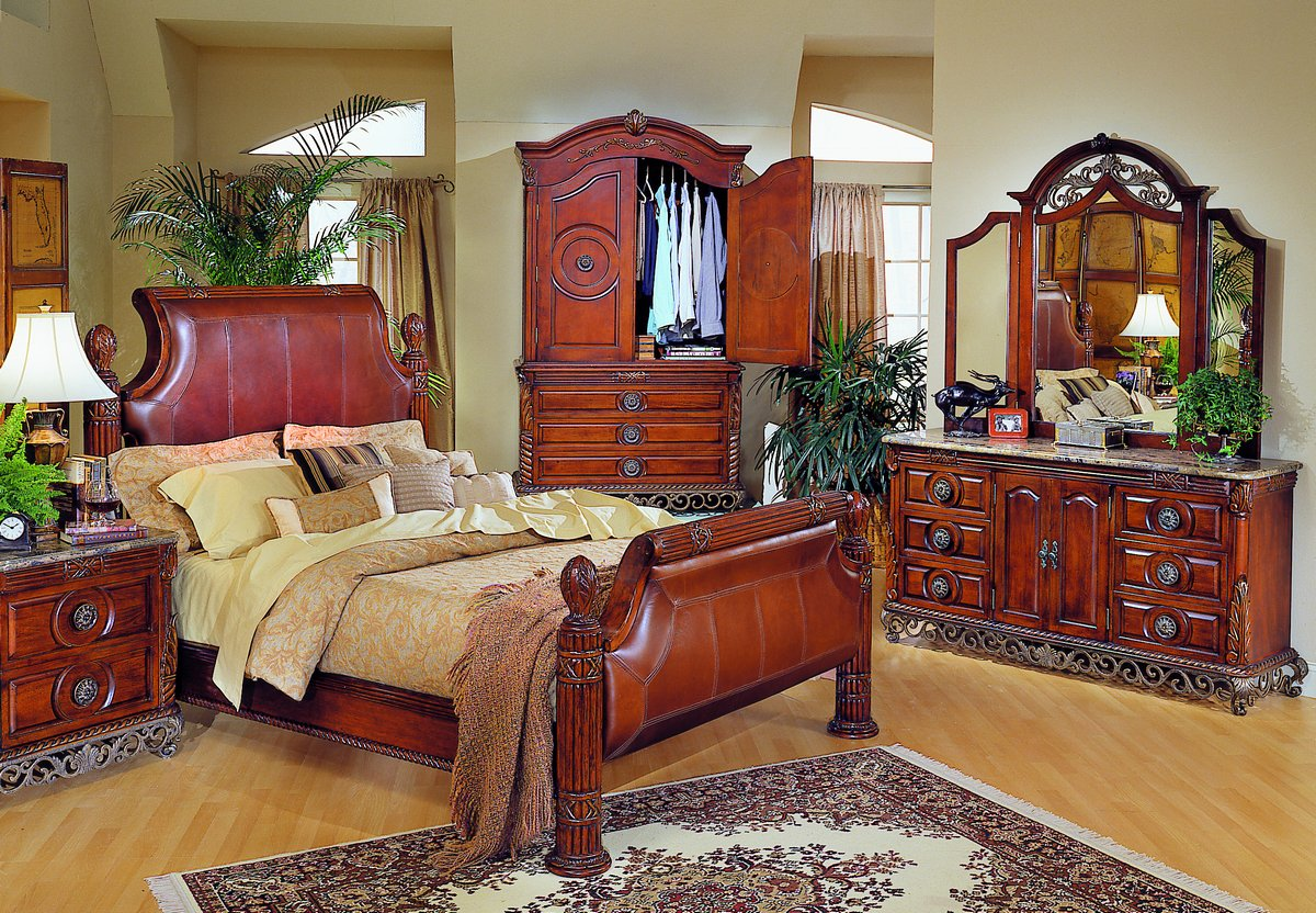 Homelegance madrid bedroom collection b829l for Furniture madrid