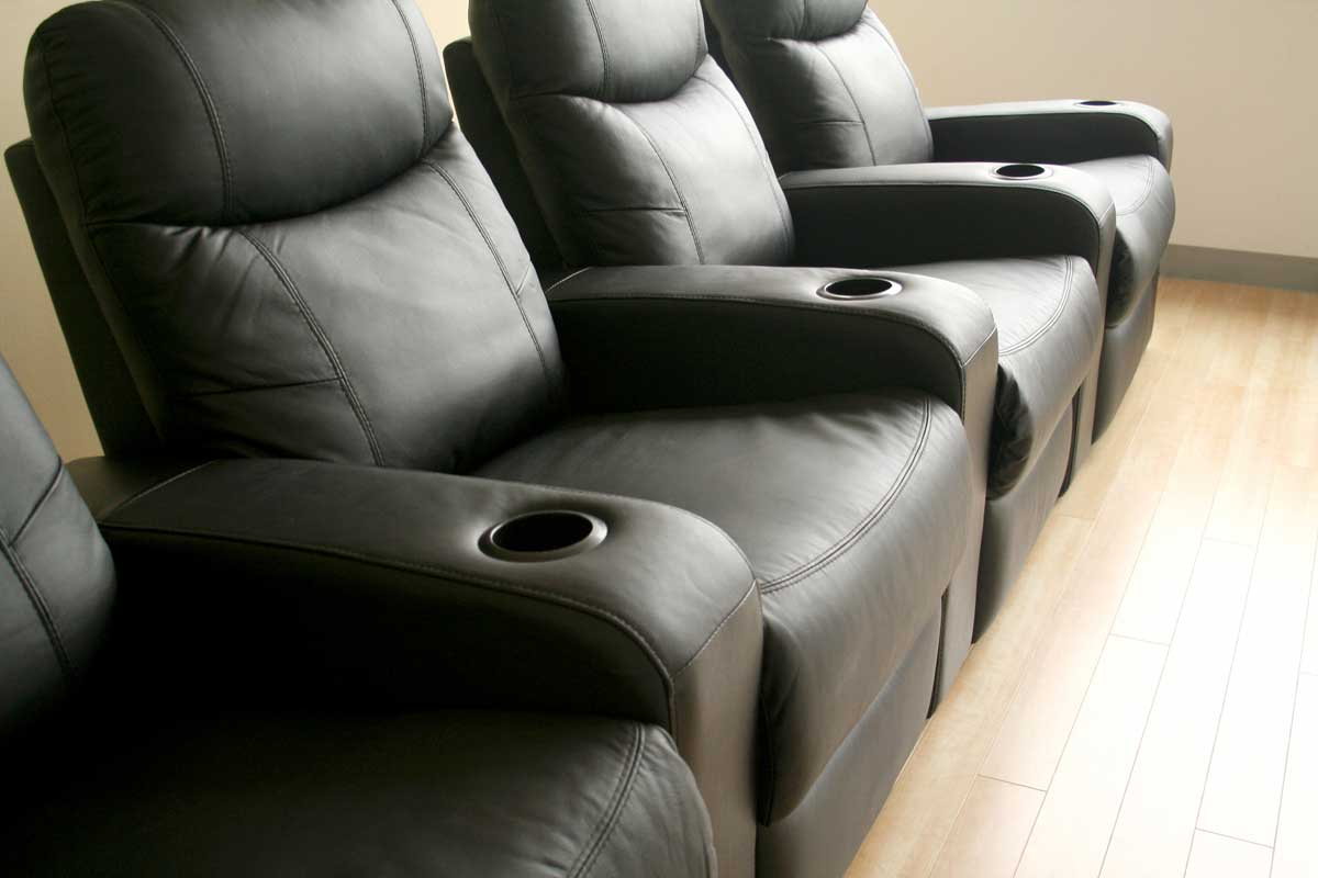 Wholesale Interiors Cannes Theater Seat - 4 Seater