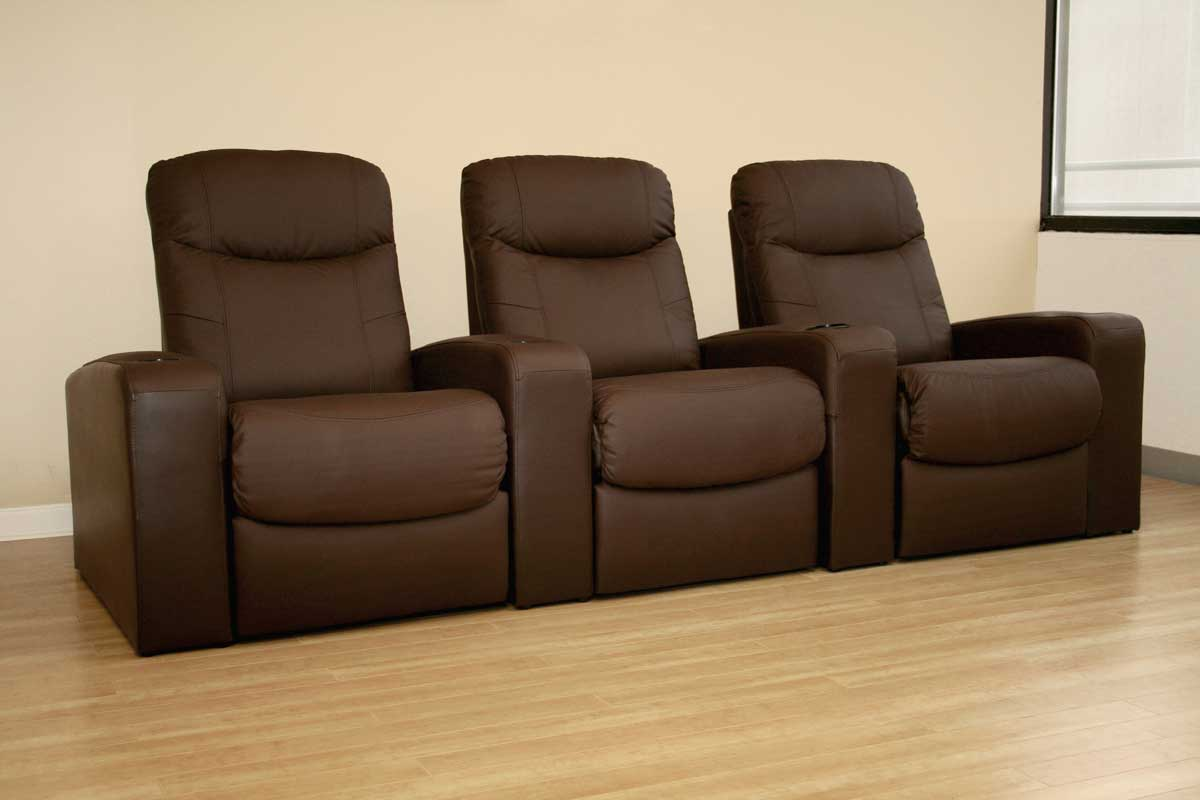 Wholesale Interiors Cannes Theater Seat - 3 Seater
