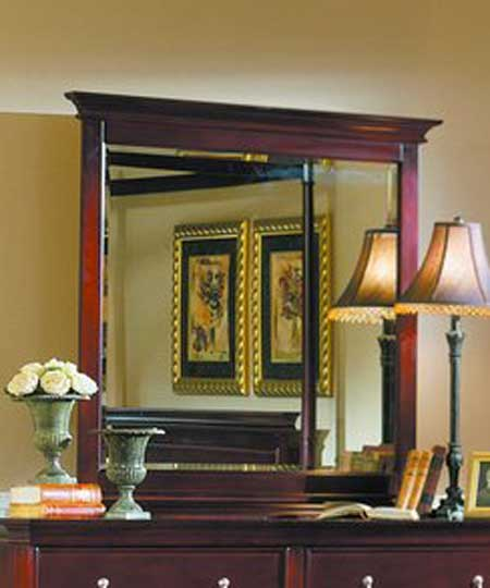 Homelegance Montgomery Frame Mirror with Bevel Glass