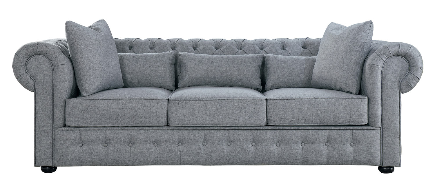 Homelegance Savonburg Sofa - Gray