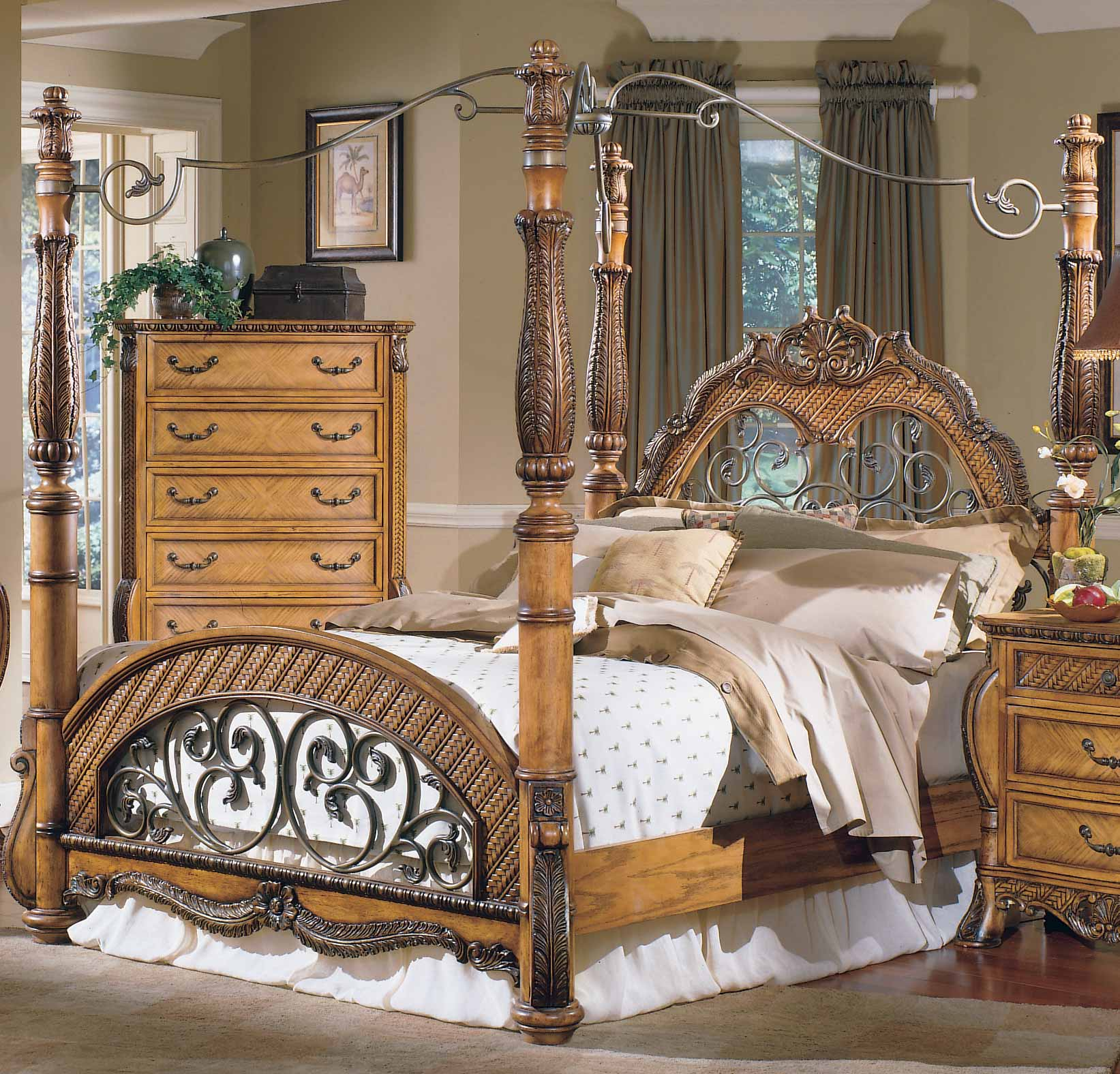 Homelegance South Beach Canopy Bed