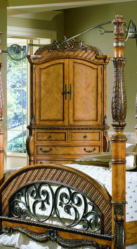 Homelegance South Beach Armoire
