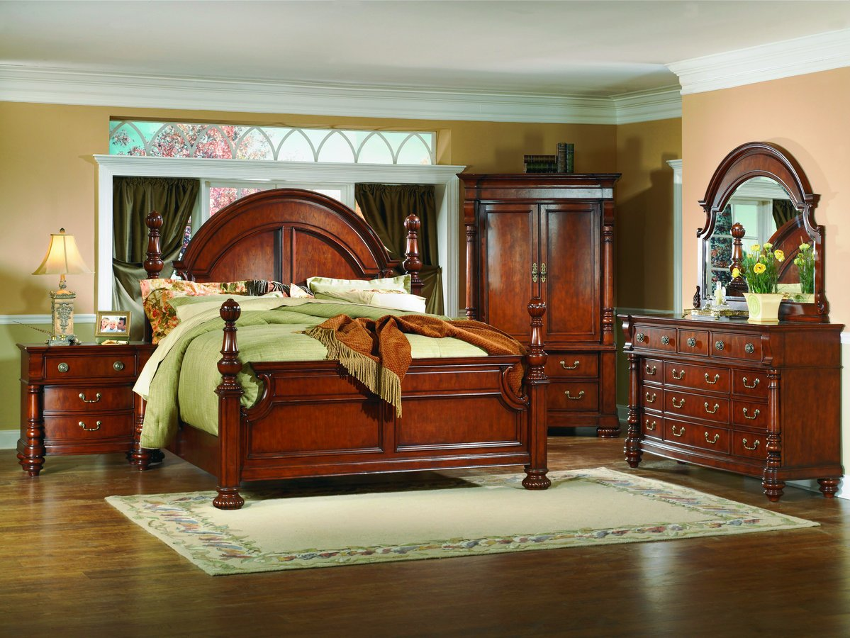 Bedroom Set With Armoire. Yorkshire Bedroom Collection Homelegance  B855 Traditional Modern House Interior
