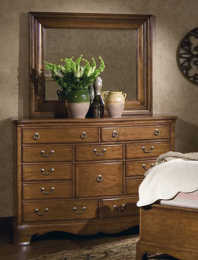 Homelegance Americana Dressing Chest with Mirror