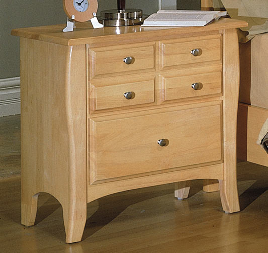 Homelegance Cosmos 2 Drawer Night Stand