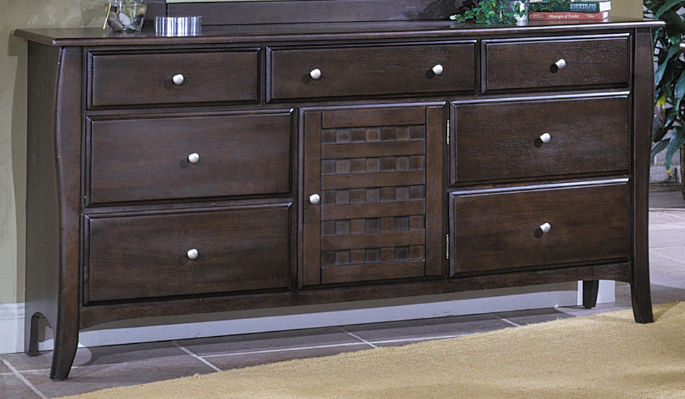 Homelegance Cosmos 7 Drawer 1 Door Dresser