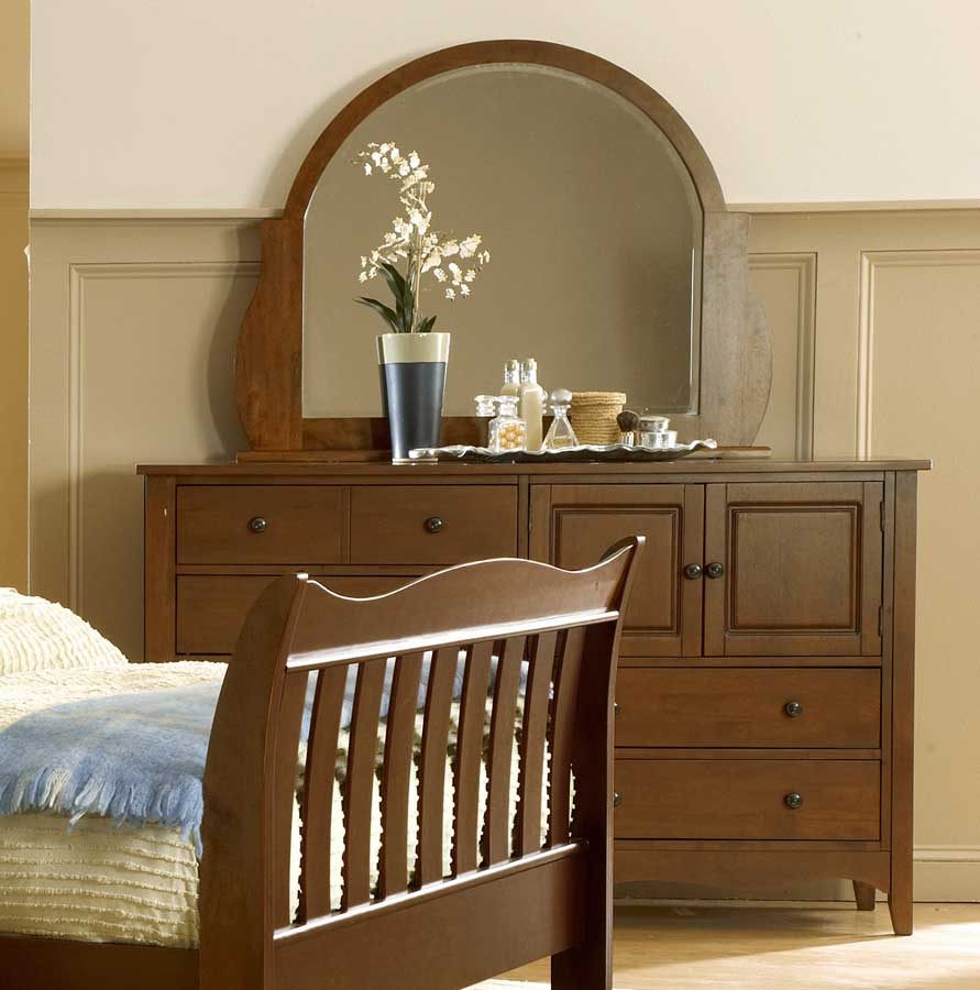 Homelegance Brookwood Dresser Cherry Finish