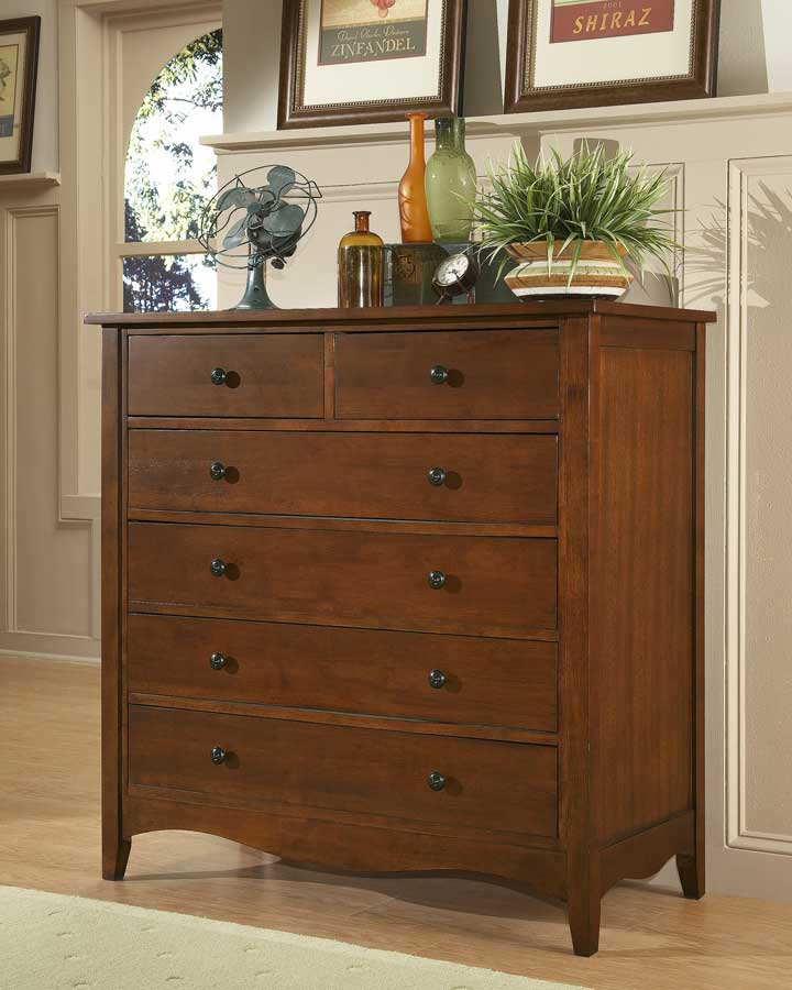 Homelegance Brookwood Chest Cherry Finish