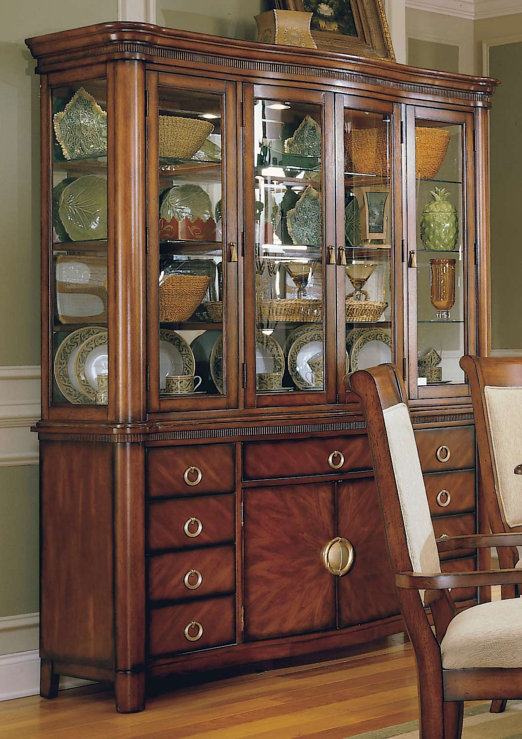 Homelegance Waterford China Cabinet