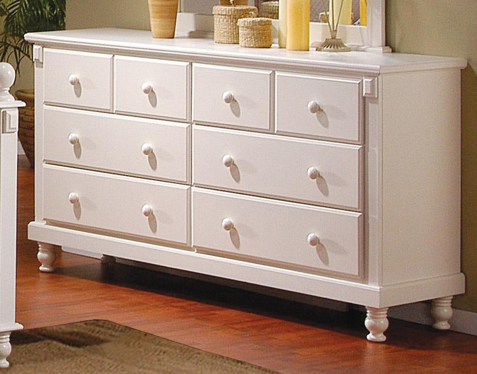 Cheap white dresser