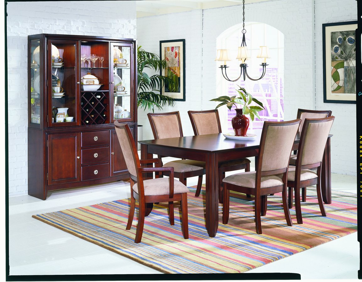 Homelegance Capria Dining Table with 18in Leaf