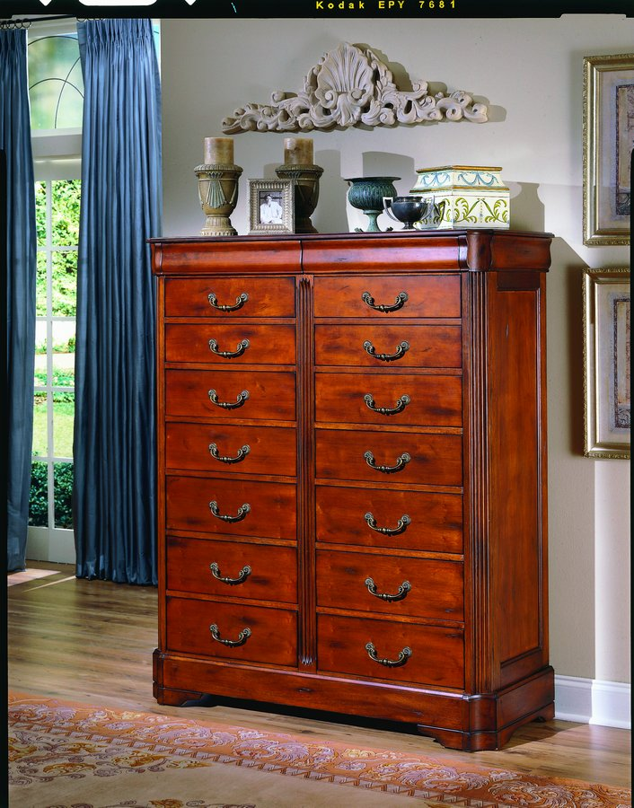 Homelegance Louis XIII Double Chest