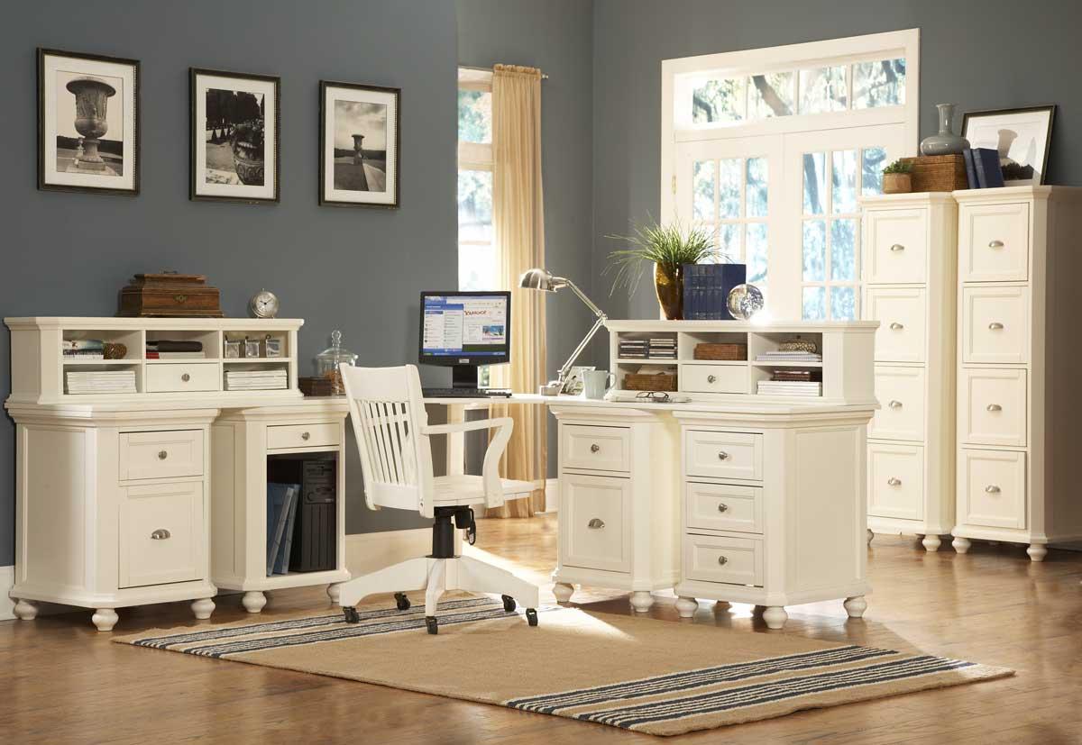 Homelegance hanna corner office white 8891w coffice at - Corner desks for home ...
