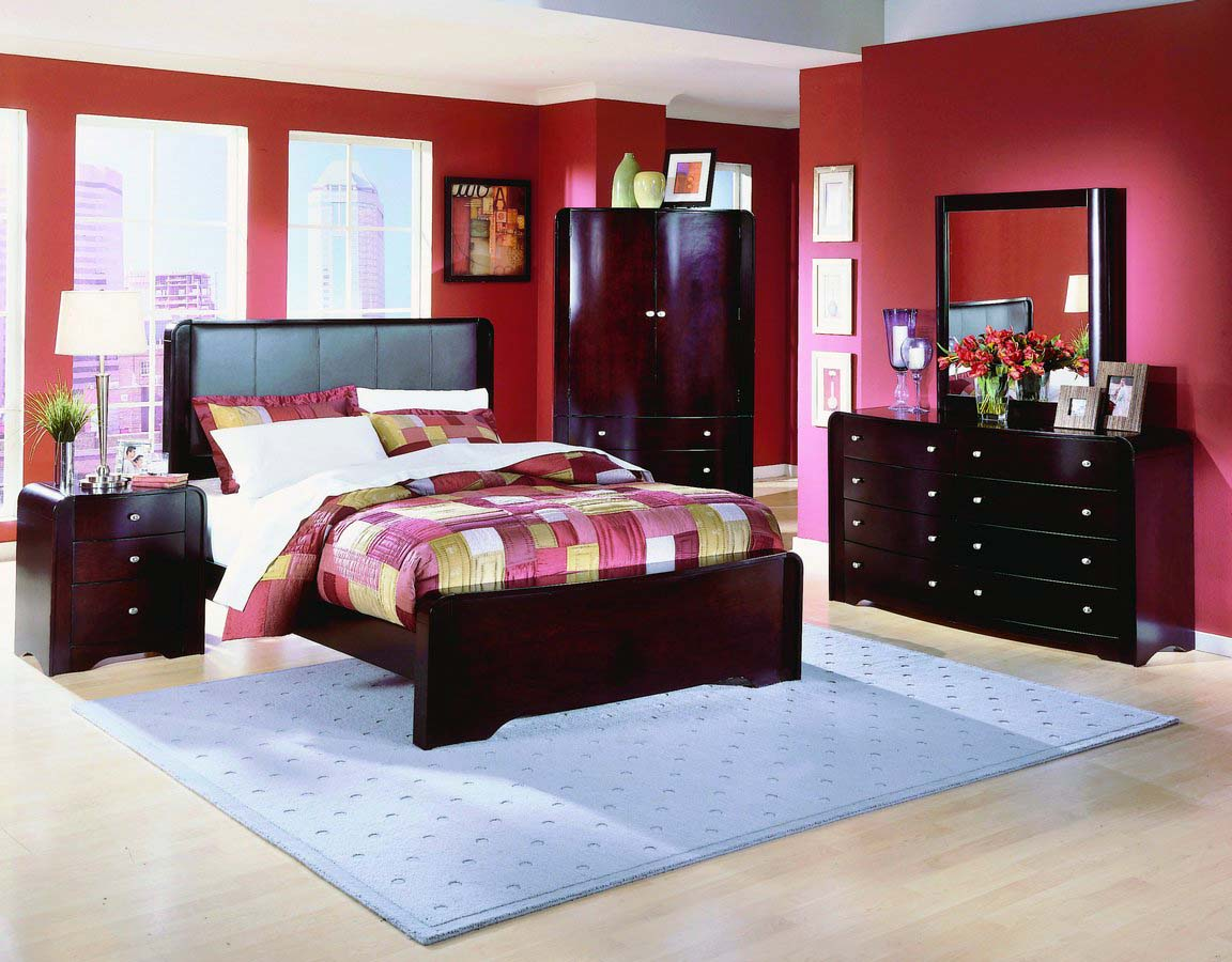 Homelegance Beacon Leather Bed