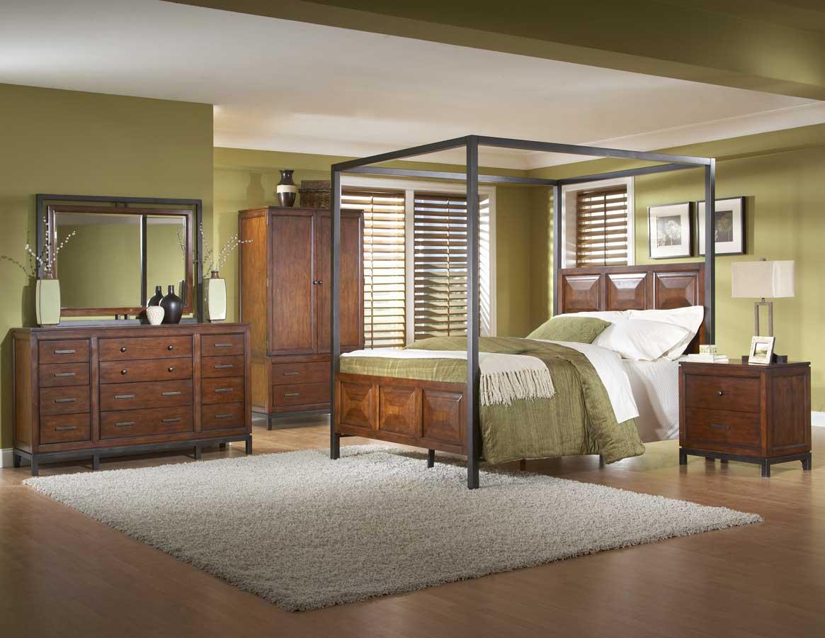 Homelegance Skyline Canopy Bedroom Collection