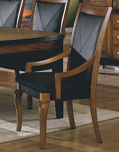 Homelegance Chameleon Arm Chair-Leather Match