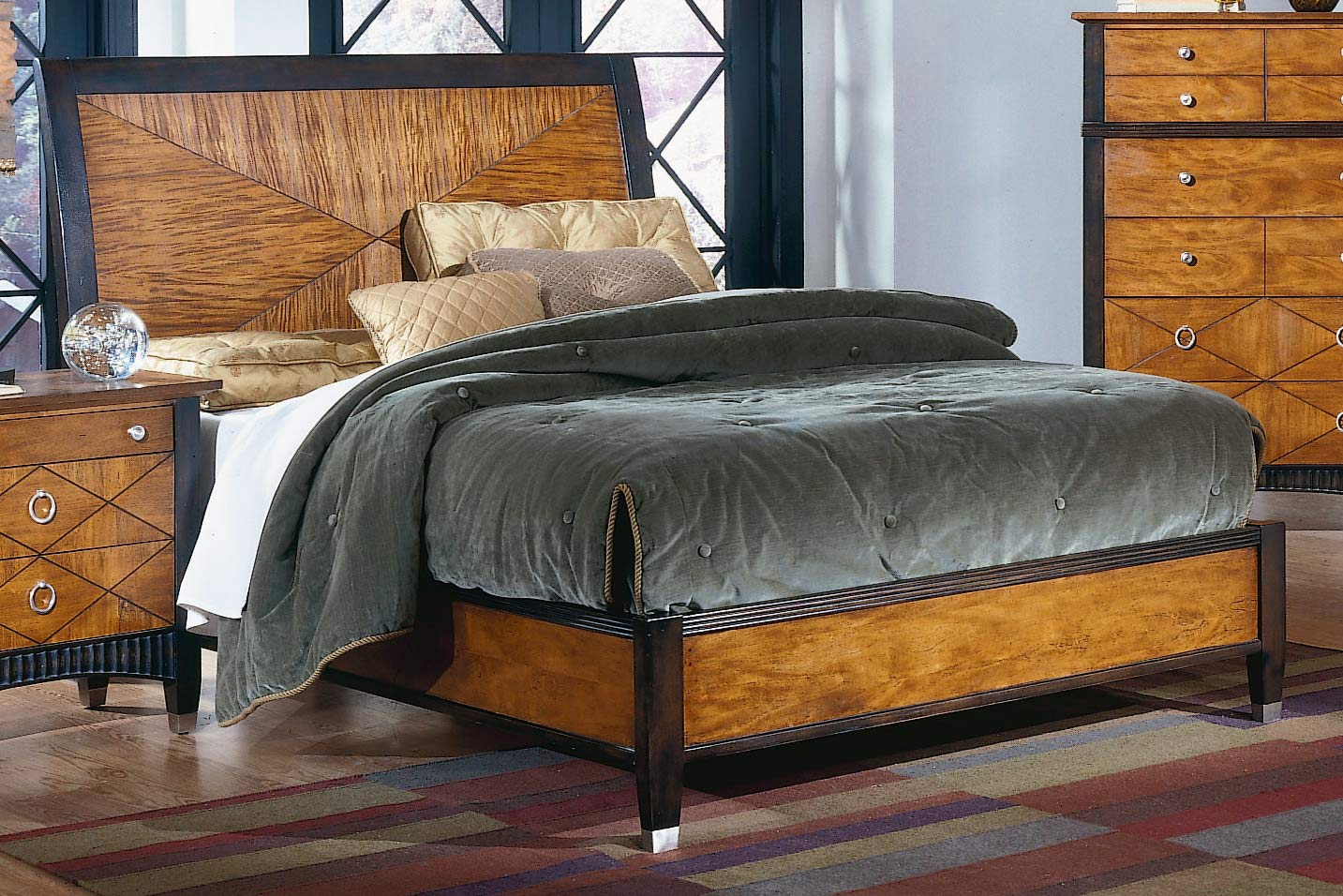 Homelegance Chameleon Bed Low Profile Footboard