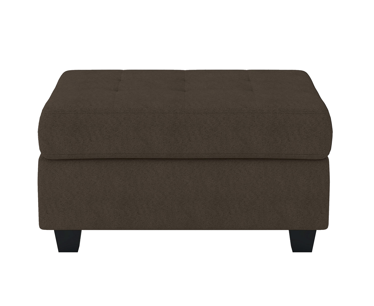 Homelegance Maston Storage Ottoman - Chocolate