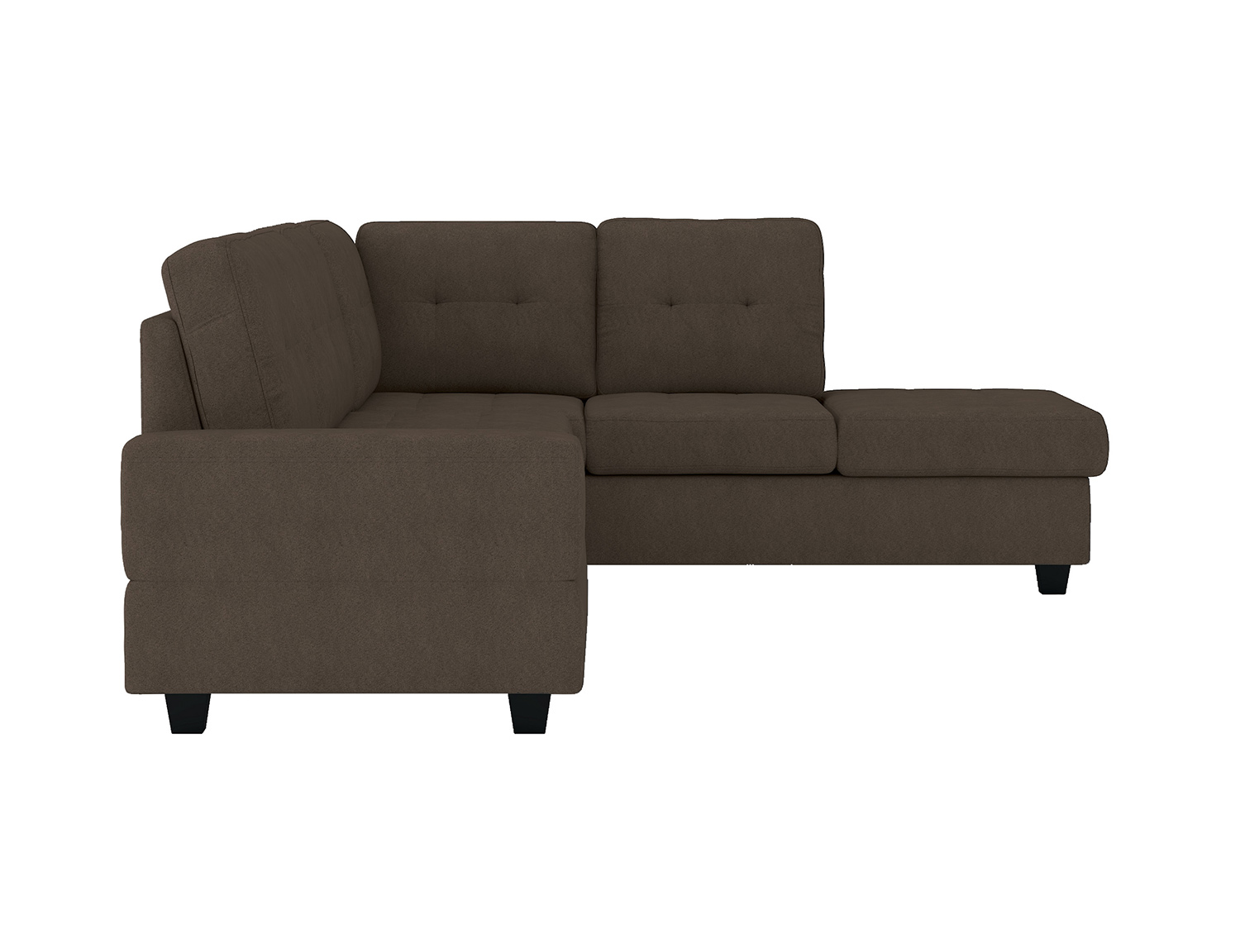 Homelegance Maston Sectional Sofa Set - Chocolate