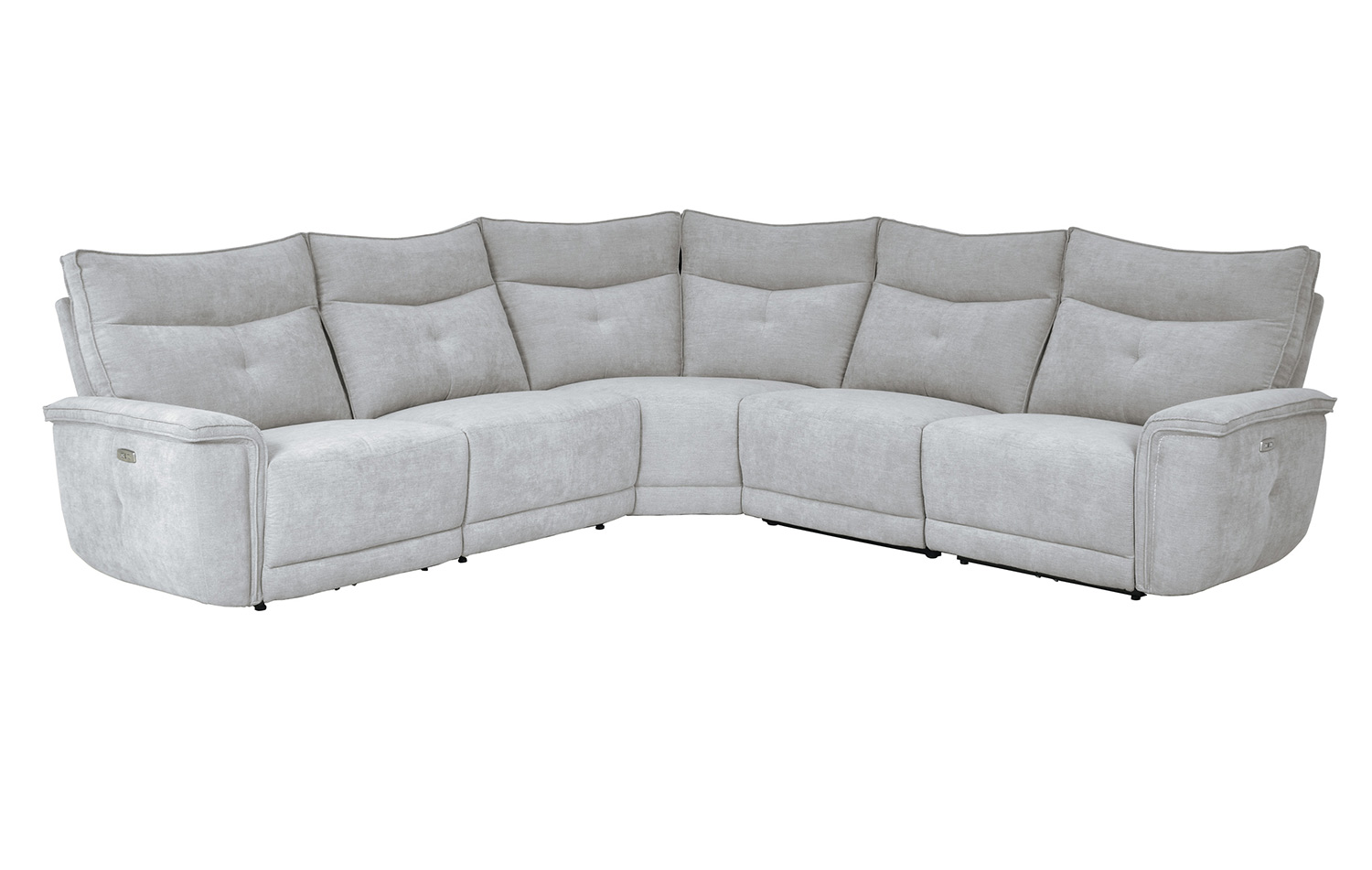 Homelegance Tesoro Power Reclining Sectional Sofa Set - Mist Gray