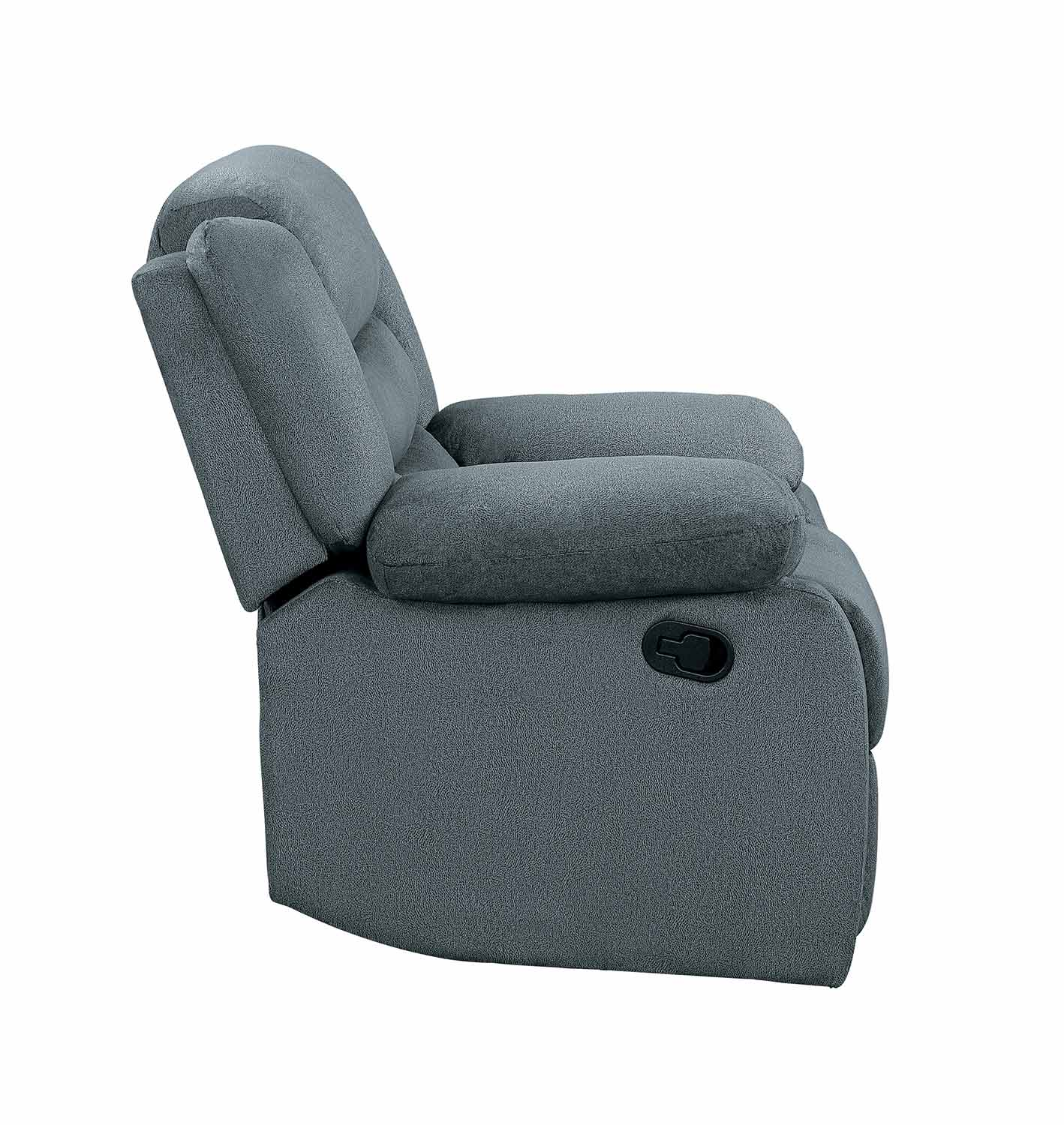 Homelegance Discus Reclining Chair - Gray