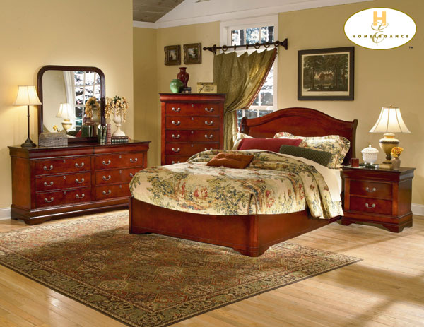 Homelegance Dijon Bedroom Collection Complete 6 Pcs