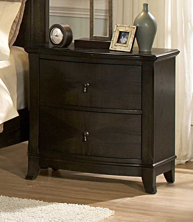 Homelegance Avalon Dark Low Profile Bedroom Collection