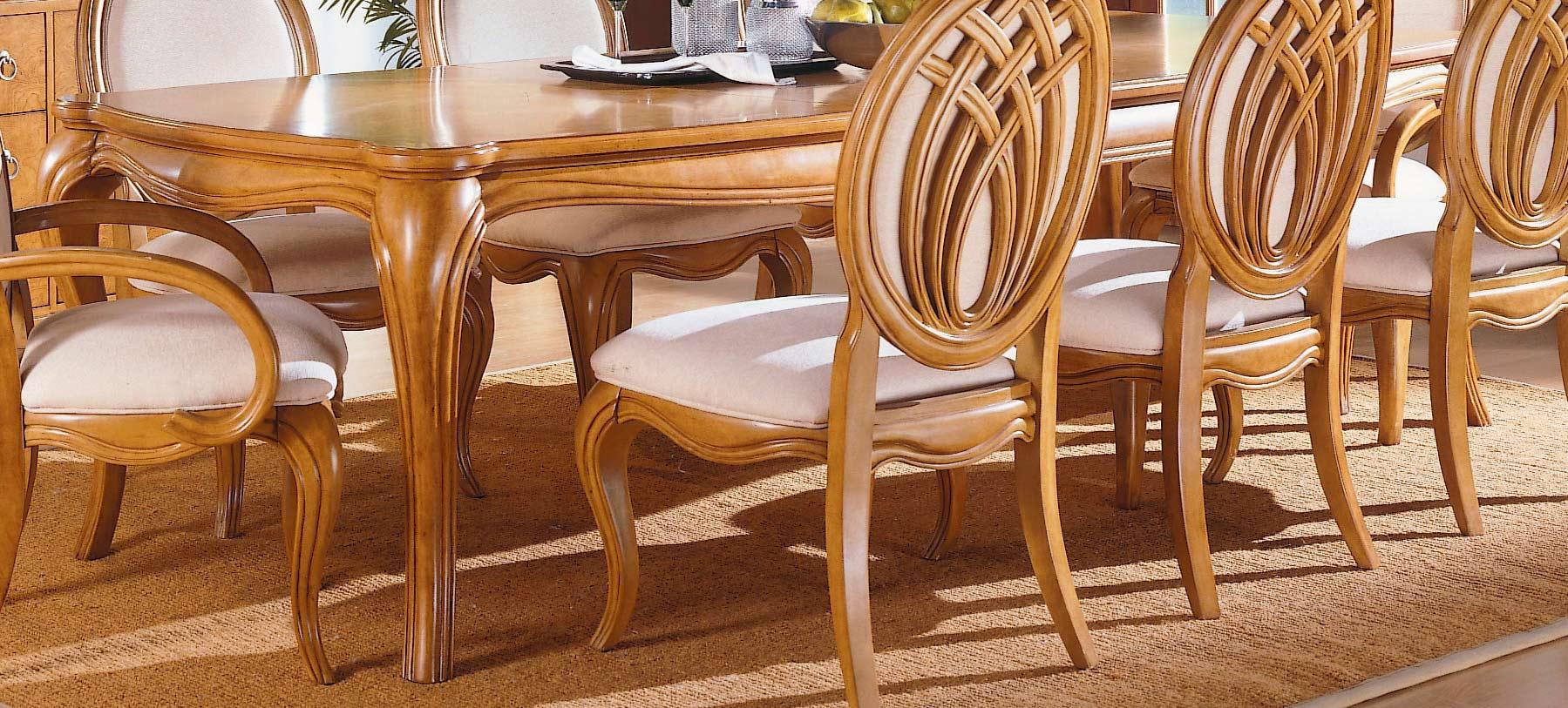 Homelegance Maltese Leg Dining Table