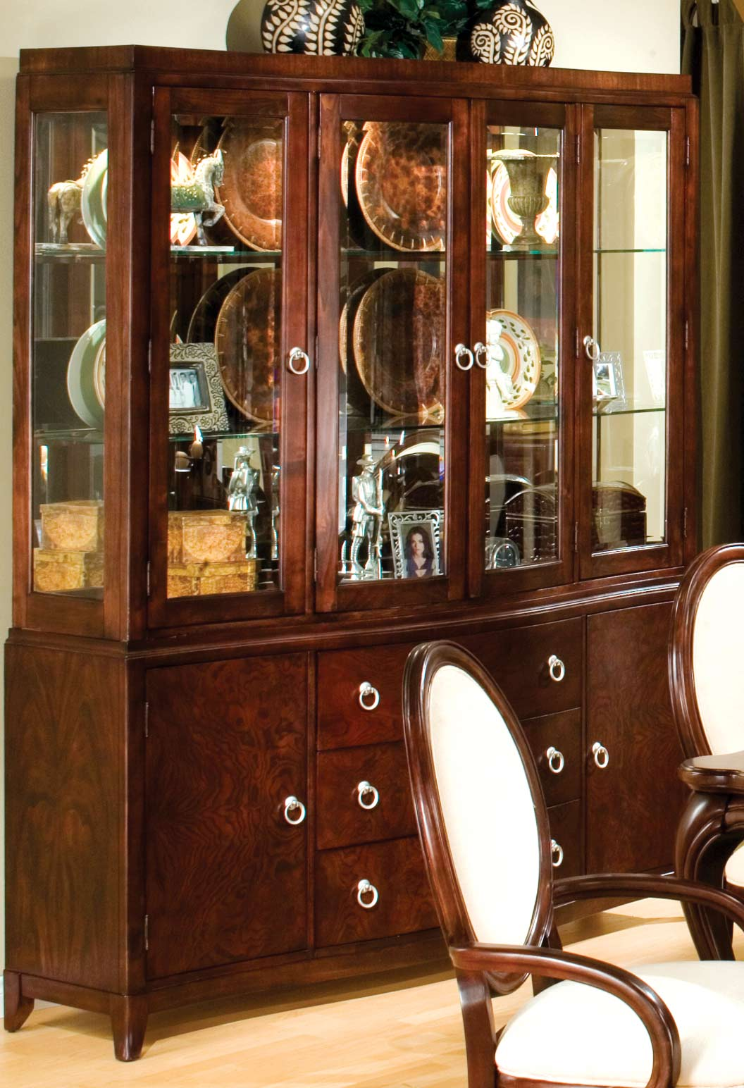 Homelegance Maltese China Cabinet