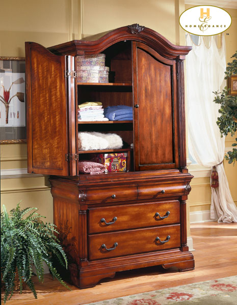 Homelegance Madison County Armoire