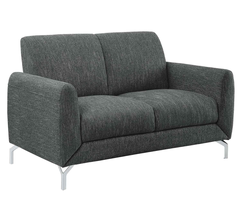 Homelegance Venture Love Seat - Dark gray