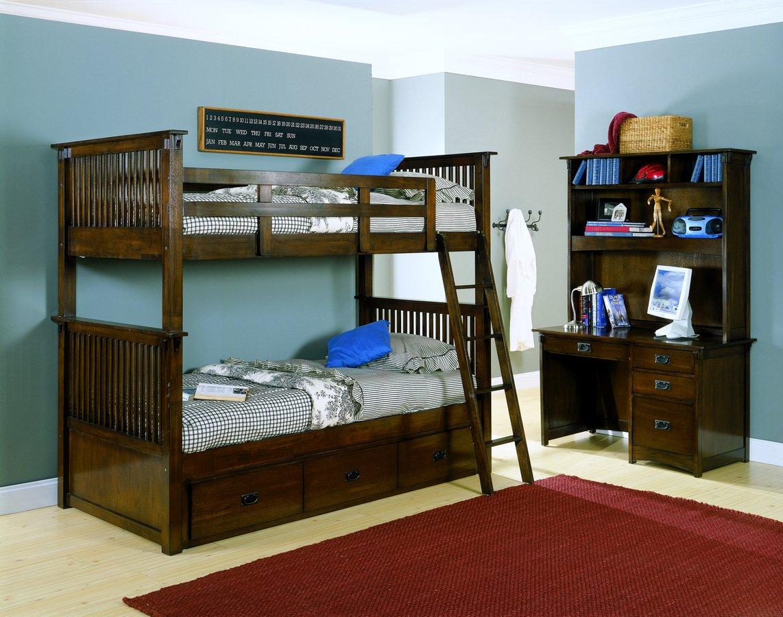Homelegance Santee Bunk Bed Storage Under Chest