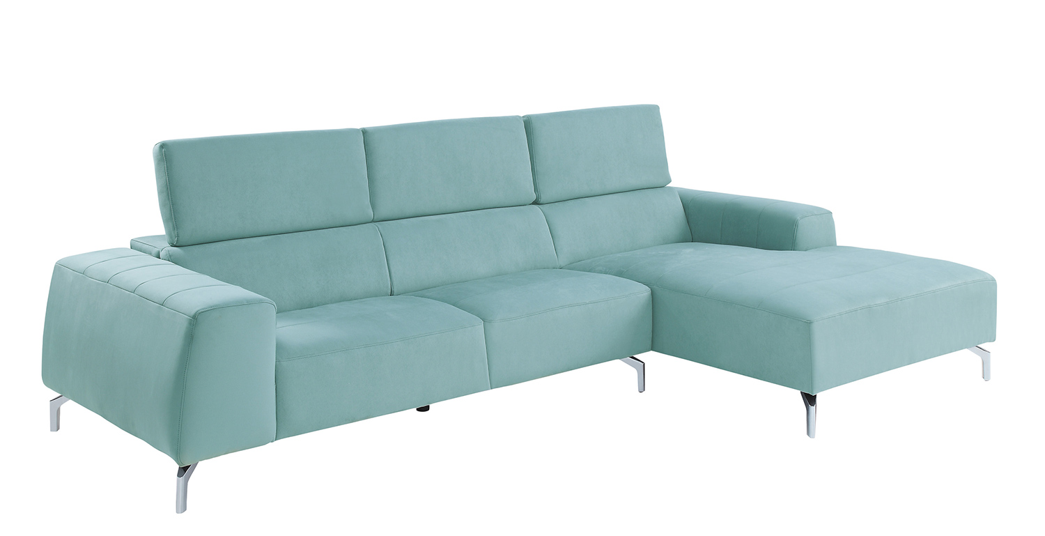 Homelegance Prose Sectional Sofa Set - Teal