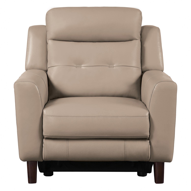 Homelegance Wystan Power Reclining Chair - Beige