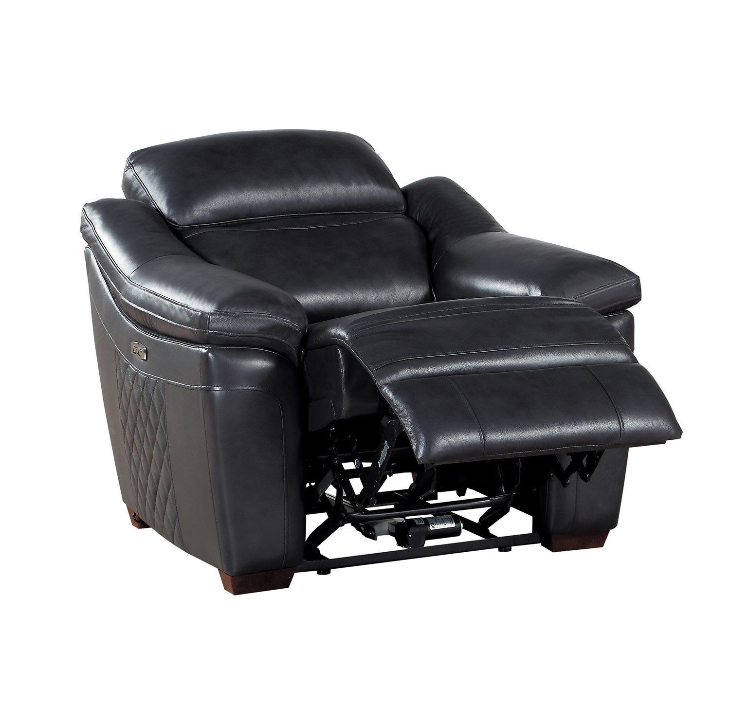 Homelegance Renzo Power Reclining Chair - Dark Gray