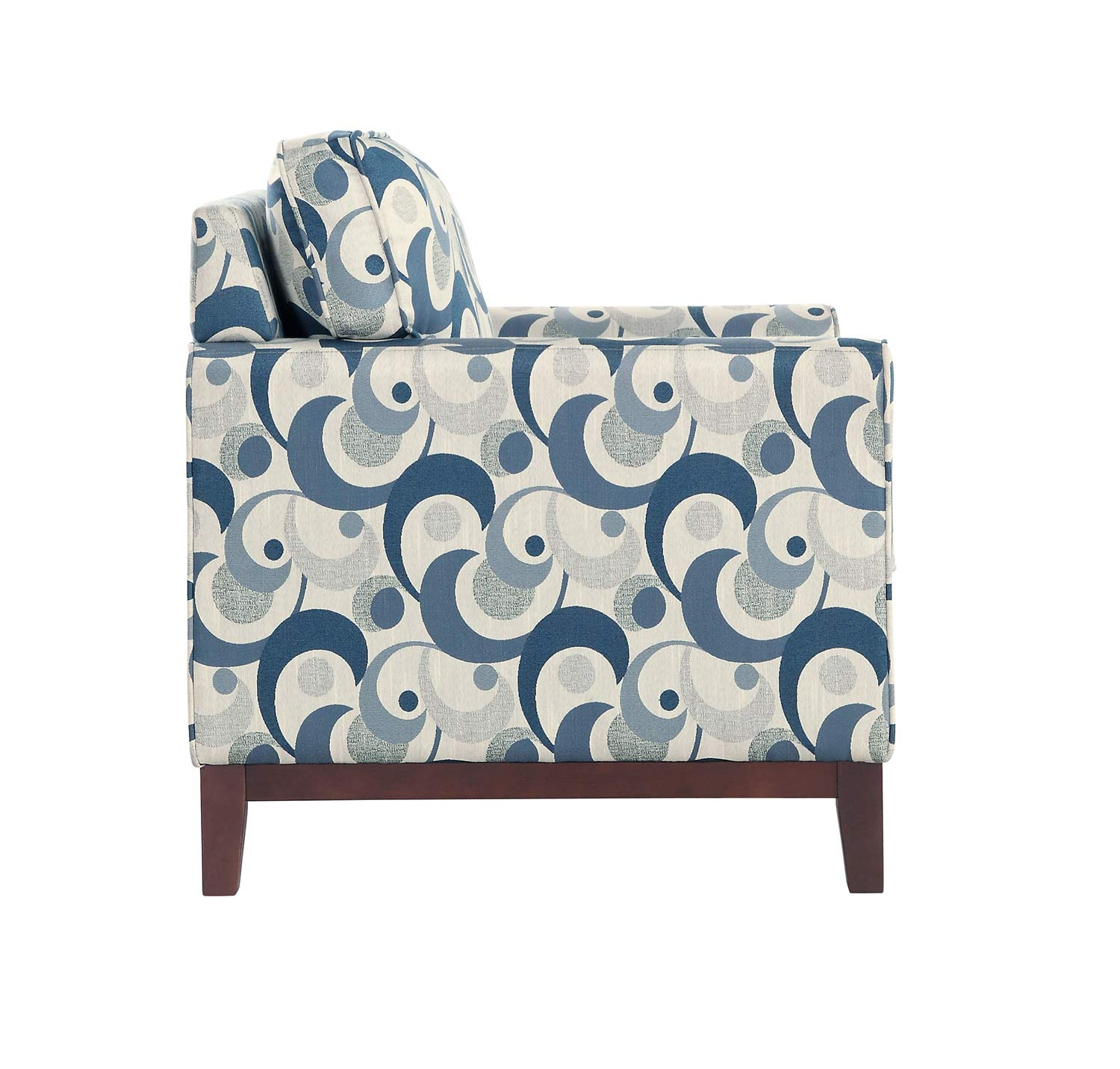 Homelegance Blue Lake Accent Chair - Gray