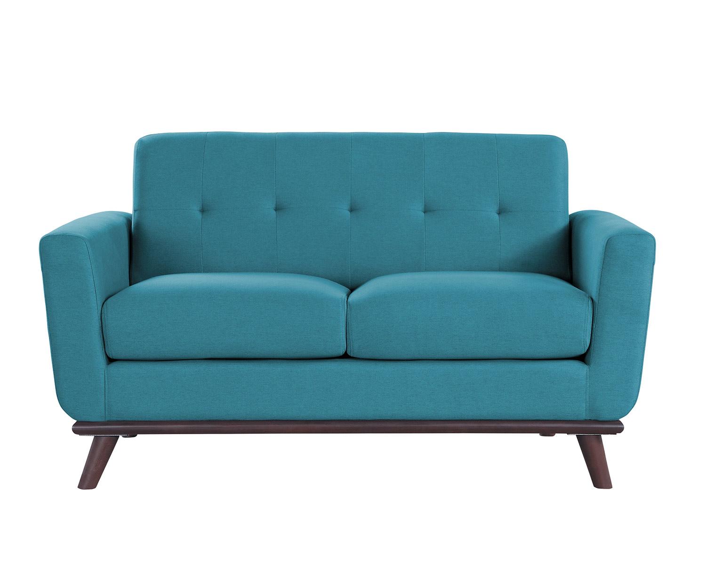 Homelegance Rittman Love Seat - Blue