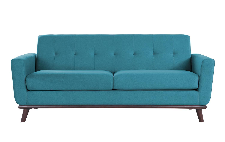 Homelegance Rittman Sofa - Blue