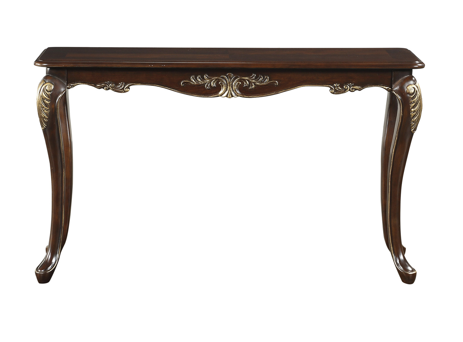 Homelegance Croydon Sofa Table - Rich Cherry