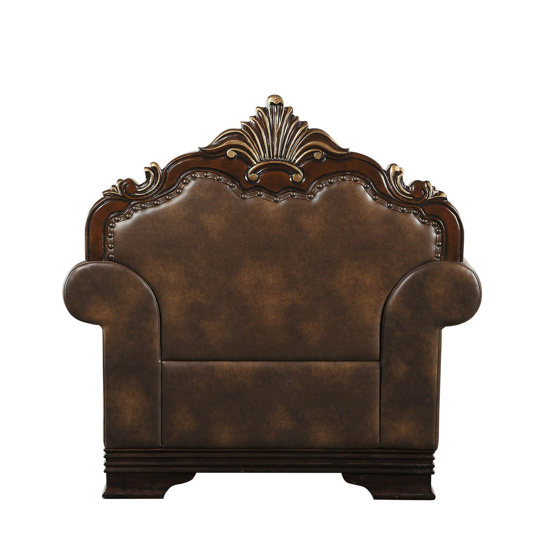 Homelegance Croydon Chair - Brown